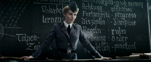 Iron Sky wallpaper with a business suit and a suit called Renate Richter