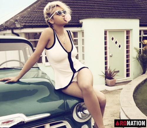 Rita Ora - I-D Magazine Photoshoot