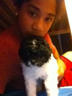 Roc And His Doggy(: