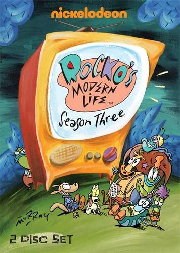 Rocko's Modern Life Season 3 Cover