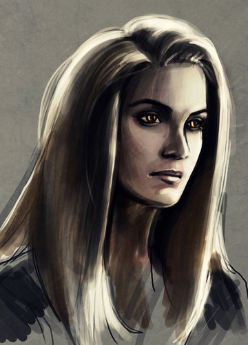 rosalie hale wallpaper probably containing a portrait titled Rosalie Fanart