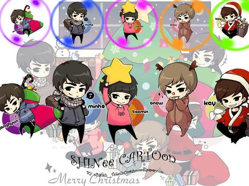 shinee images shinee cute chibi hd wallpaper and