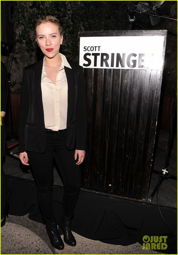 Scarlett Johansson: Mayoral Fundraiser Host! - scarlett-johansson Photo