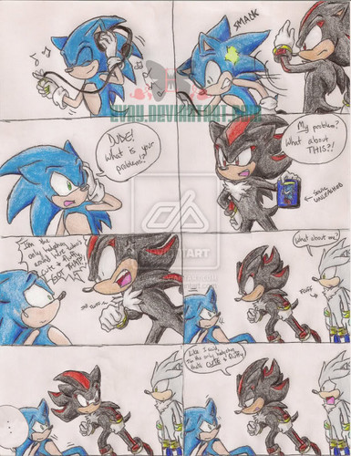 Shadow is .: Shadow :.the ONLY cute and Fluffy hedgehog