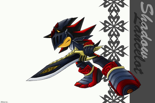 Sir lancelot/Shadow the hedgehog