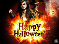 Skul and Val - skulduggery-pleasant wallpaper
