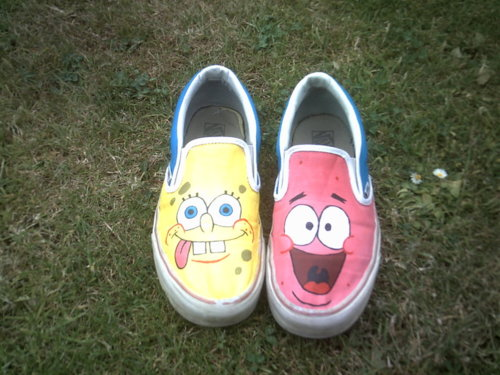 SpongeBob and Patrick Soes (front)
