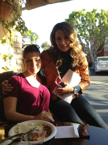 Stana and Christine Boylan