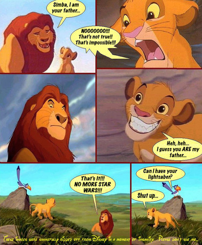 তারকা wars and the lion king