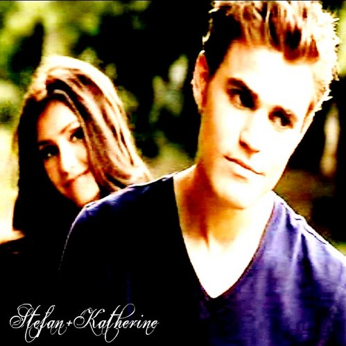Stefan teasing Katherine in the return!
