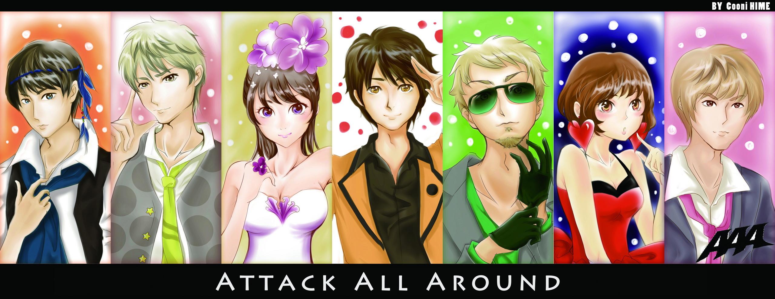 Summer of aaa attack all around fan art 30379836 fanpop