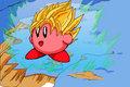 Super Saiyan Kirby