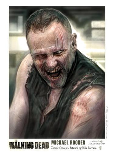 TWD Merle/ Michael rooker_zombie