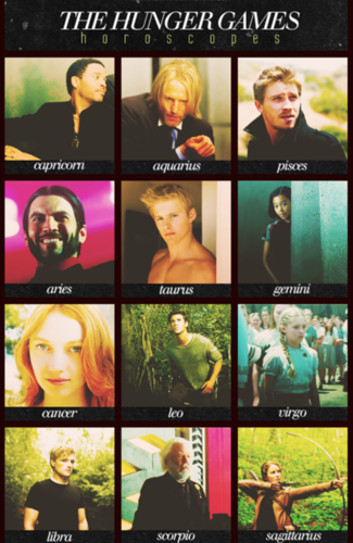 The Hunger Games Horoscopes!