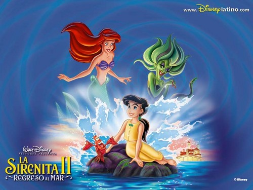 The Little Mermaid 2 壁紙 with アニメ titled The Little Mermaid2