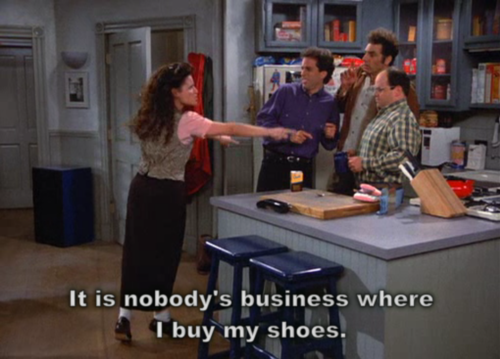 Seinfeld kertas dinding called The Shoes