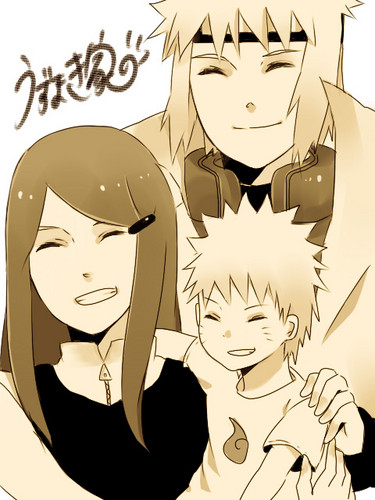 Кушина Узумаки Обои possibly with Аниме called The Uzumaki Family