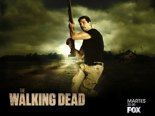 Os Mortos-Vivos wallpaper possibly containing a wicket, a fielder, and a pick entitled Shane Walsh