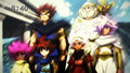 The ancestors of the Solar System Bladers - beyblade-metal-fury wallpaper