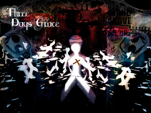 Three Days Grace kertas dinding containing Anime entitled Three Days Grace