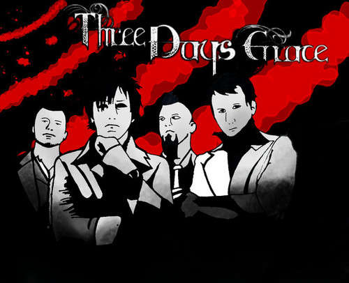 Three Days Grace wallpaper probably with anime titled Three Days Grace
