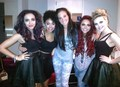 Tulisa and Little Mix! <3