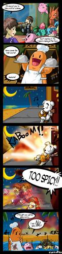 Super Smash Bros. Brawl karatasi la kupamba ukuta titled Vacation part 3