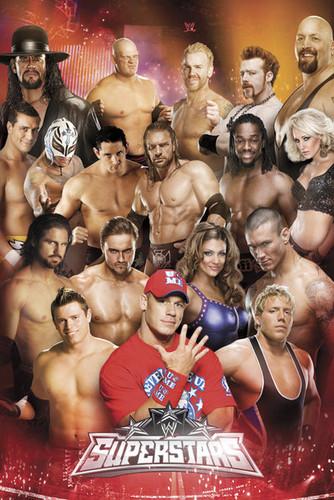 ডবলুডবলুই Poster featuring Wade Barrett