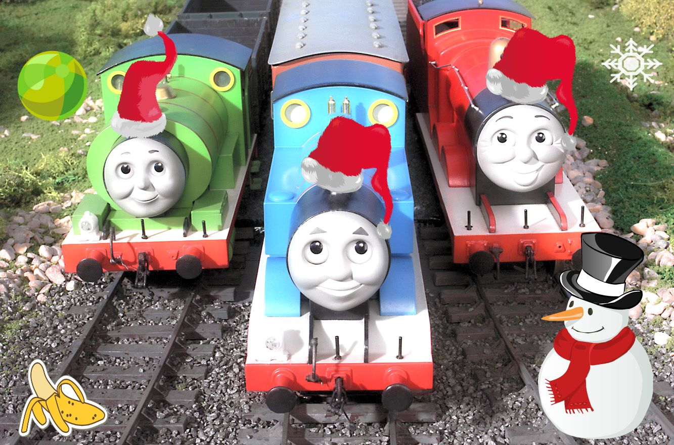 Thomas the Tank Engine Thomas And Friends (By Me)