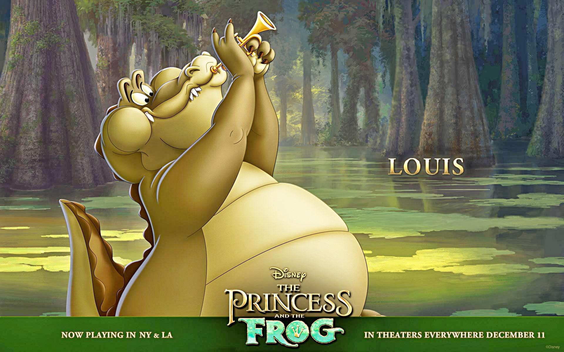 Walt Disney fonds d'écran - Louis
