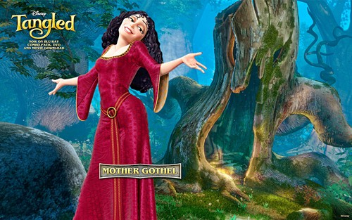 Walt Disney mga wolpeyper - Mother Gothel