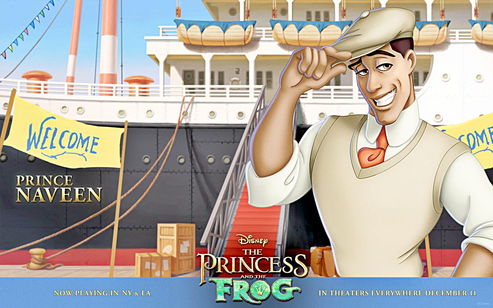 Walt Disney karatasi za kupamba ukuta - Prince Naveen