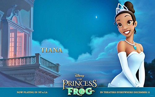 Walt Disney Wallpapers - Princess Tiana