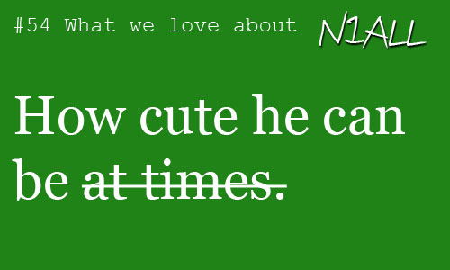 What We प्यार About Niall Horan
