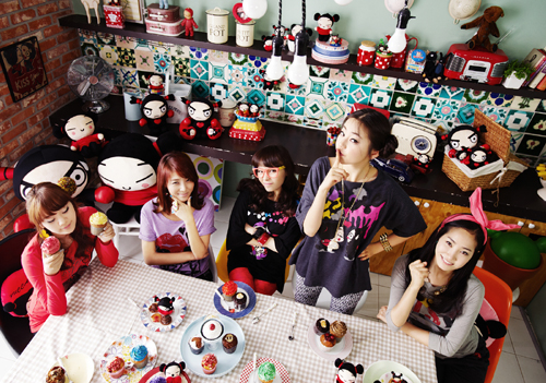 Wonder Girls for Pucca - wonder-girls Photo