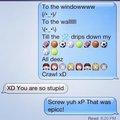 XD text messagin a freind