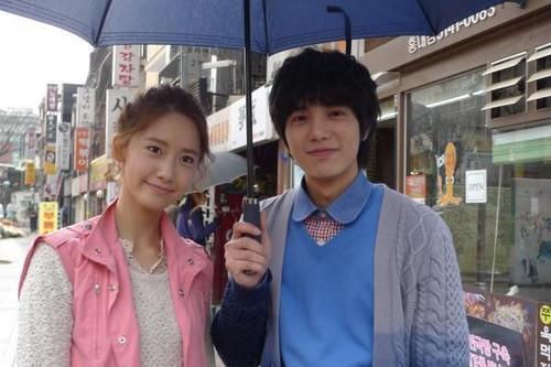 Yoona & Shi-Hoo'Love Rain' Behind The Scene photos