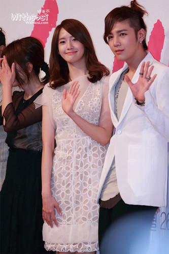 Yoona प्यार Rain press conference