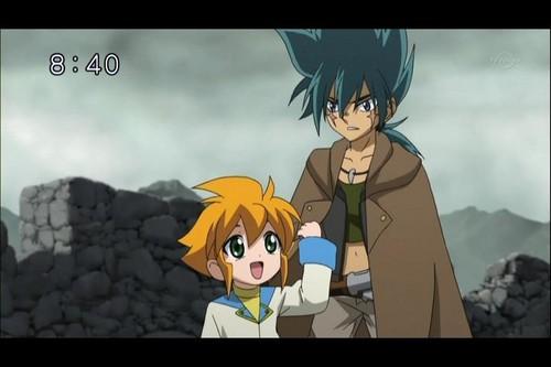 Yu Tendo and Kyoya