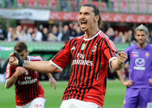 Z. Ibrahimovic (AC Milan - Fiorentina)