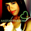 Aaliyah picha containing a portrait called aaliyahweb.com