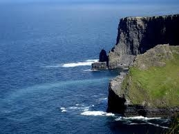 beautiful cliffs in ireland