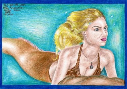cariba heine drawing