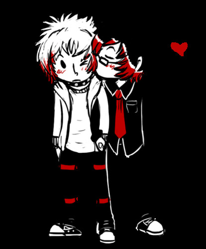 Emo Love Wallpaper Called Cute