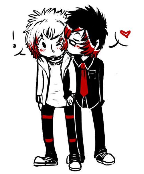 Emo Love cute