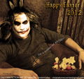 happy easter joker 2012