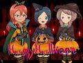 happy halloween ie go girls!