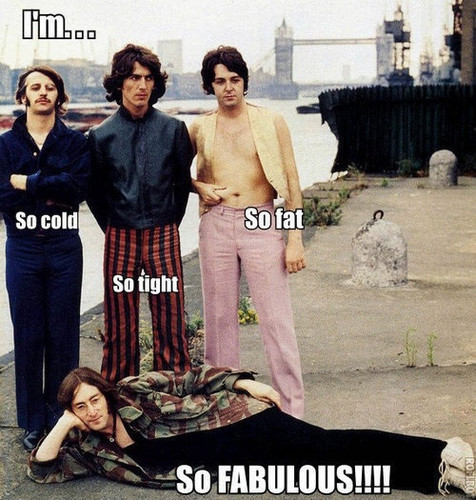 hes so faboulus sorry other beatles XD