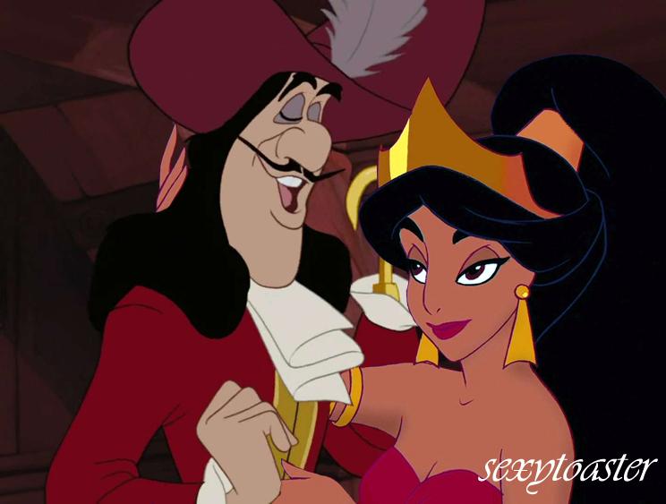 Hook And Jasmine Disney Crossover Photo 30347850 Fanpop