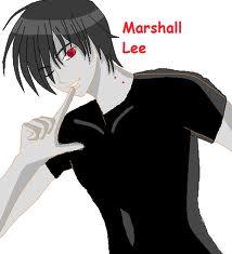 Marshall Lee karatasi la kupamba ukuta probably with a portrait titled hot